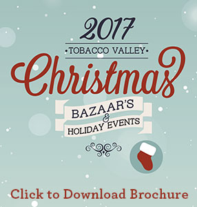 2017 Tobacco Valley Christmas Bazaar Brochure