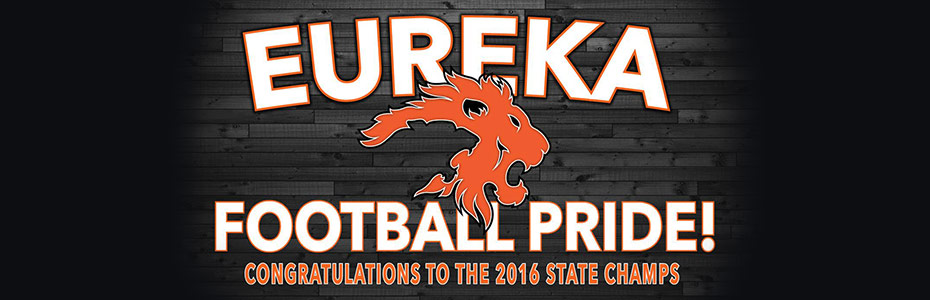 Eureka Lions Football State Champs!