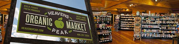 Heavens Peak Organic Grocery - Community Spotlight